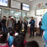 第13弾「春のくろわん」出発式の挨拶(2013年3月31日)